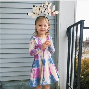 Hand dyed size 3T dress